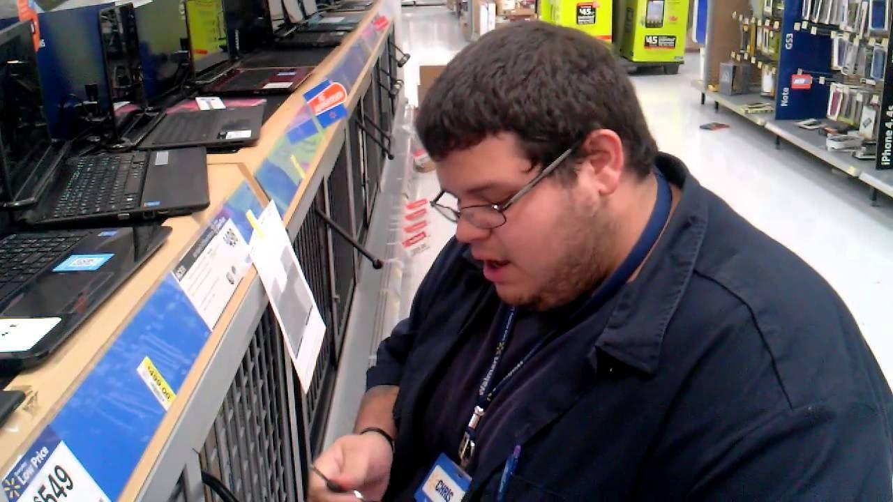 Wal-Mart employee with a hidden talent