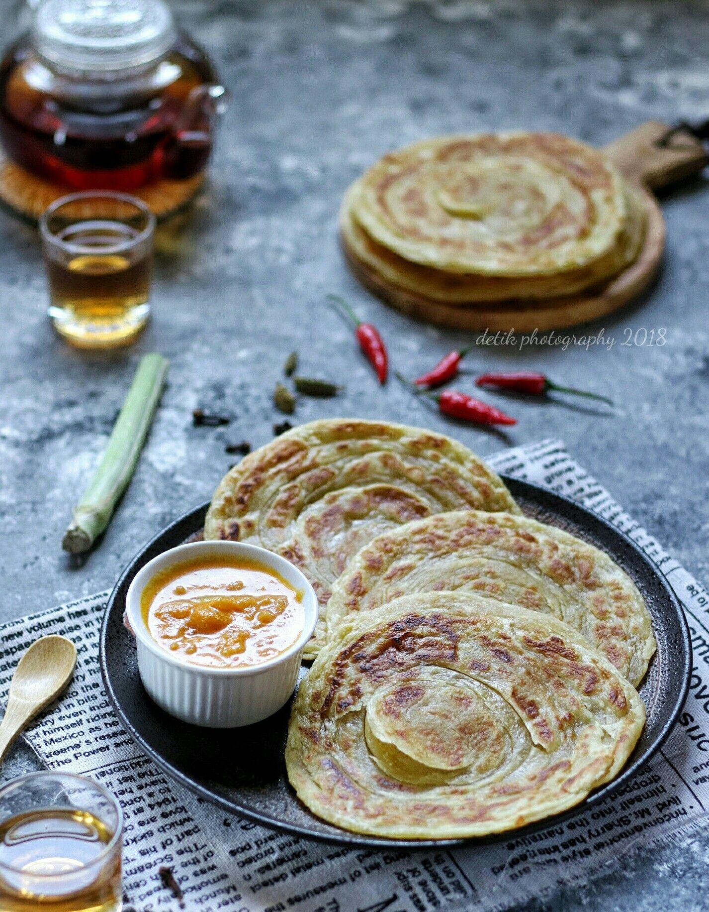 Roti Maryam Makanan Fotografi Makanan Resep Masakan Indonesia
