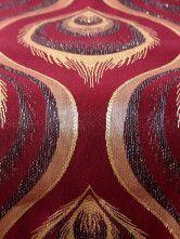 photo 4 of 6 Applique Jacquard Peacock Quality Table Centerpieces-No.4
