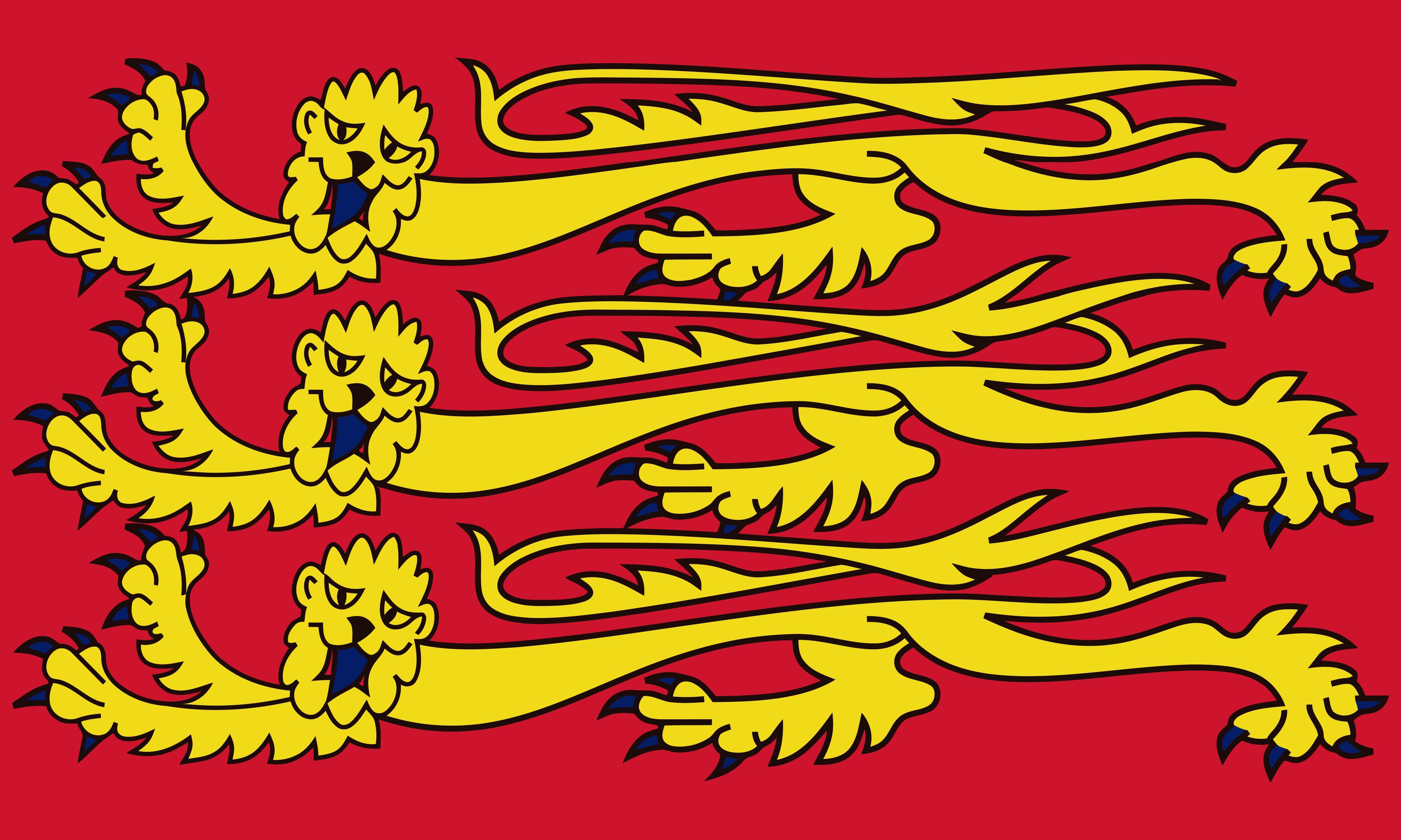 Bandeira De Inglaterra Real Rei Ricardo Coracao De Leao Com