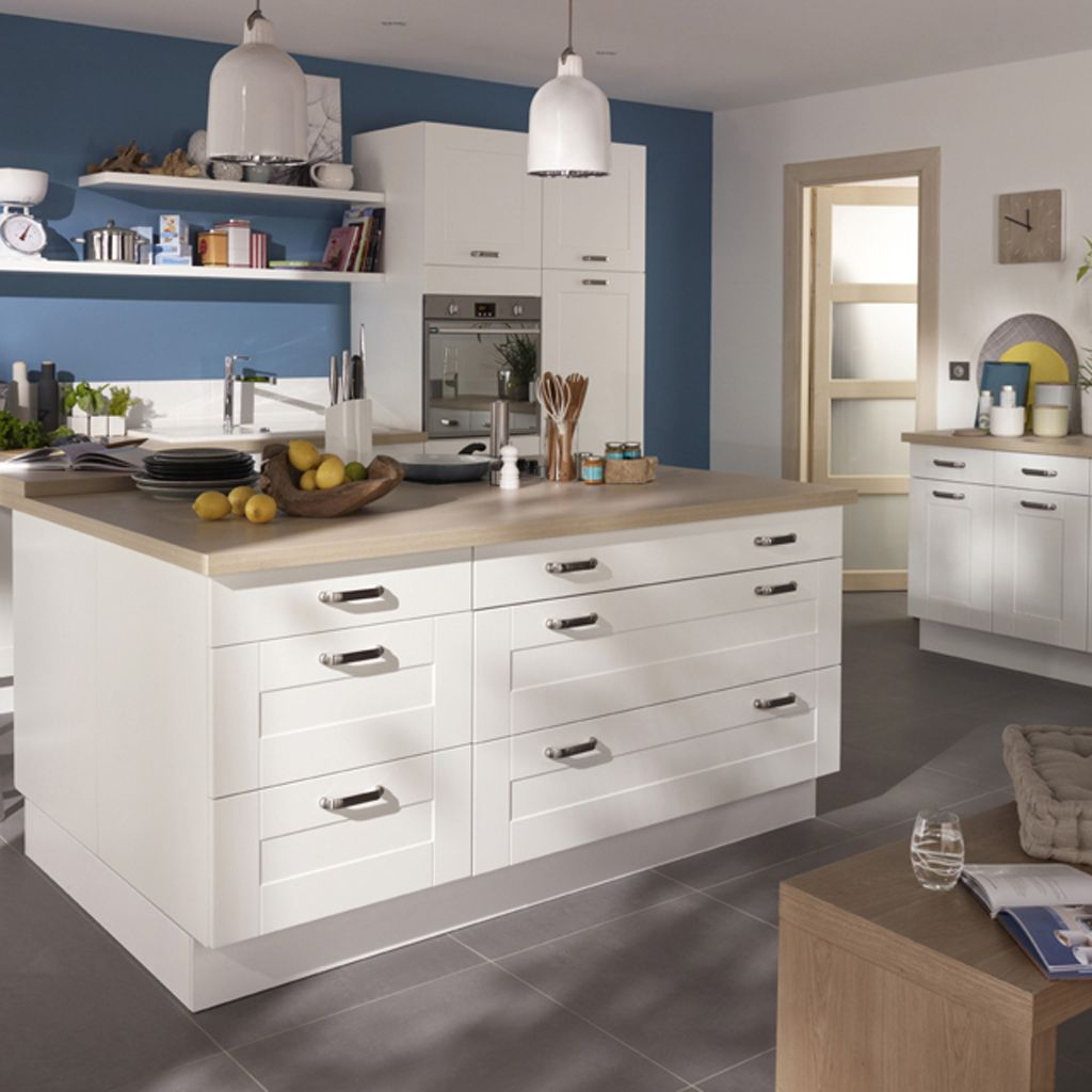Cuisine Blanche Castorama Cuisine Castorama Kadral Home Kitchens And Dining Rooms