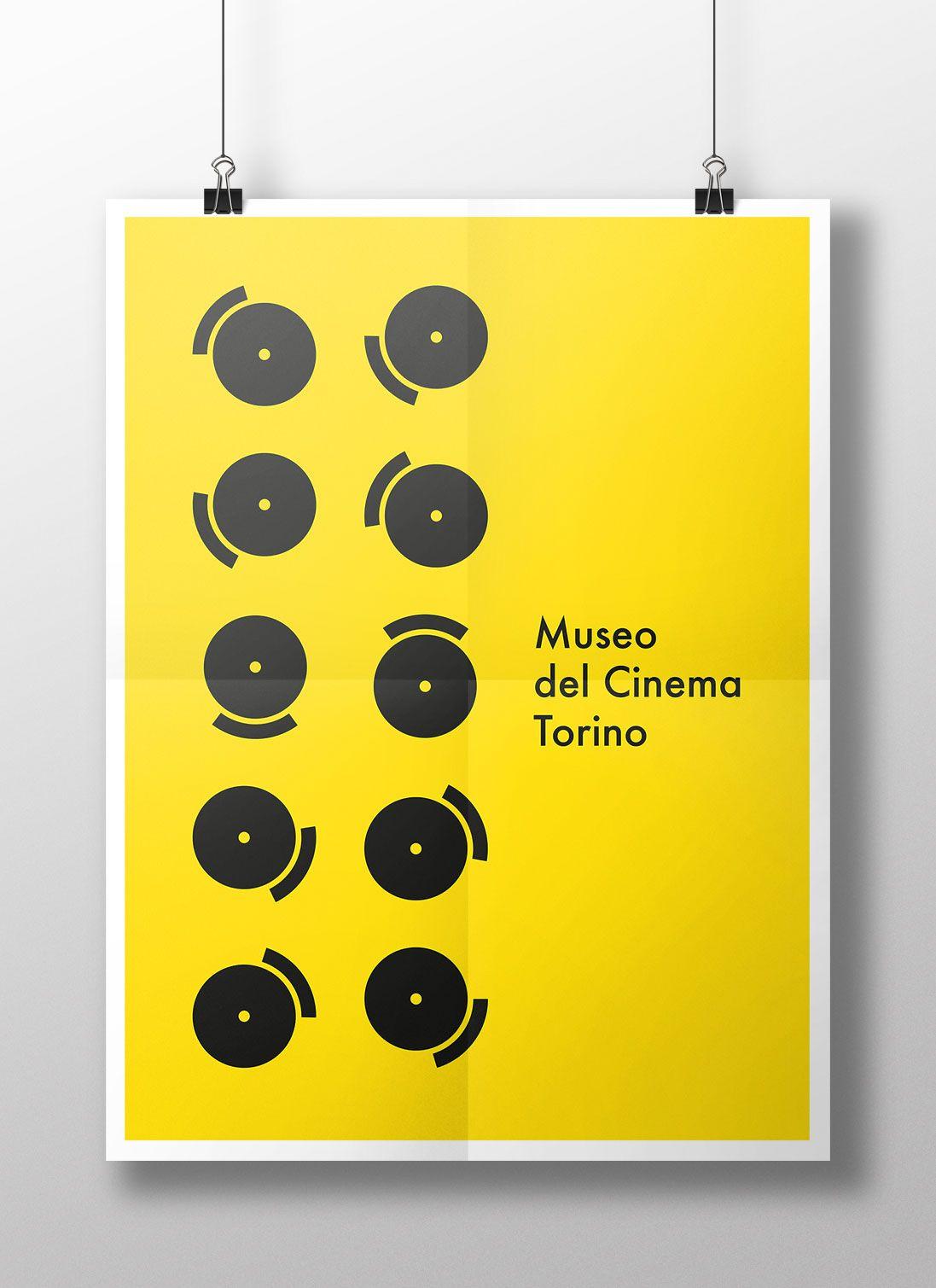Museo del Cinema, Torino   Buste da lettera, Brochure e Buste