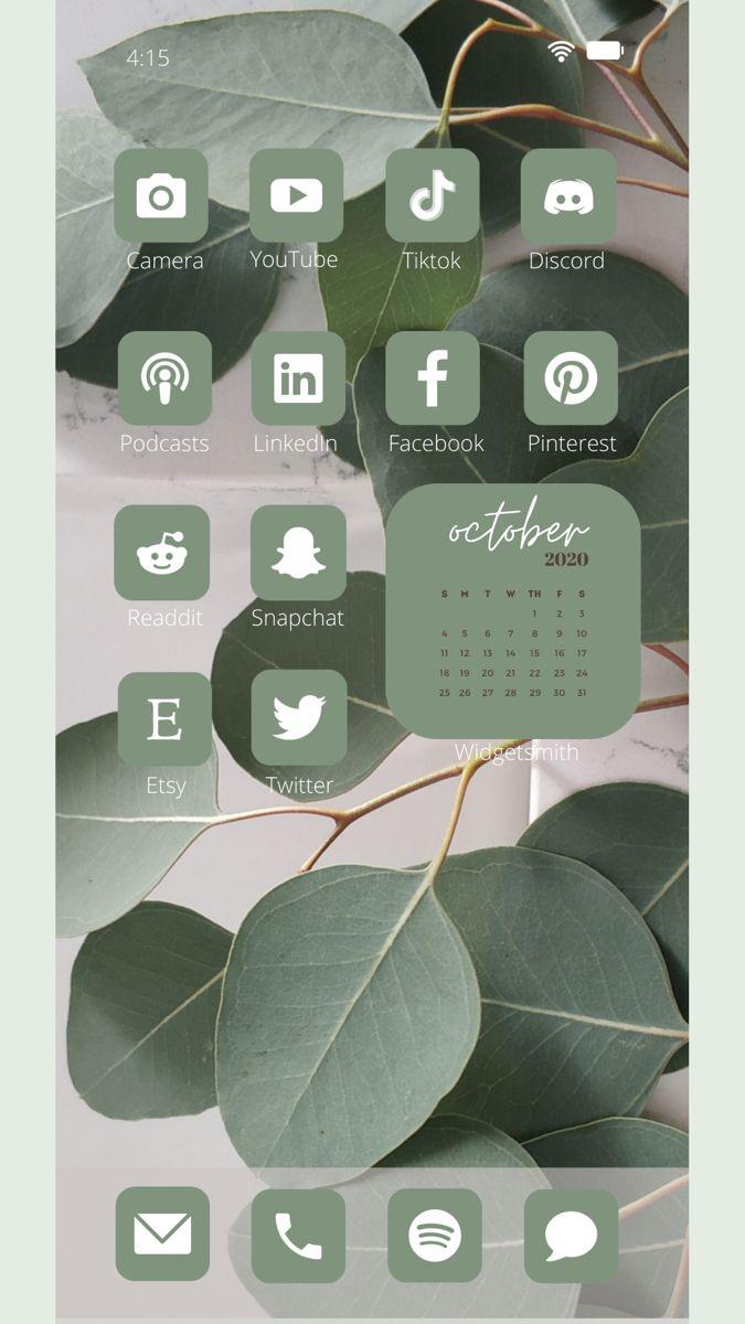 iOS 14 Neutral Aesthetic 150 App Icons Pack | Laco