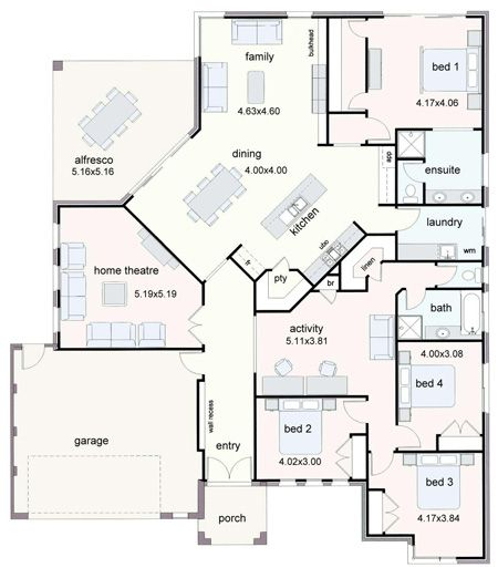 Attrayant Chris Allen Gladstone Designer Homes New House Plans And House Designs