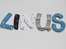 Buchstaben für das Kinderzimmer Tür buchstaben