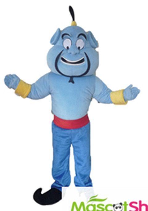 costume de mascotte pour adulte g nie aladin disney mascotte costume pas cher pinterest. Black Bedroom Furniture Sets. Home Design Ideas
