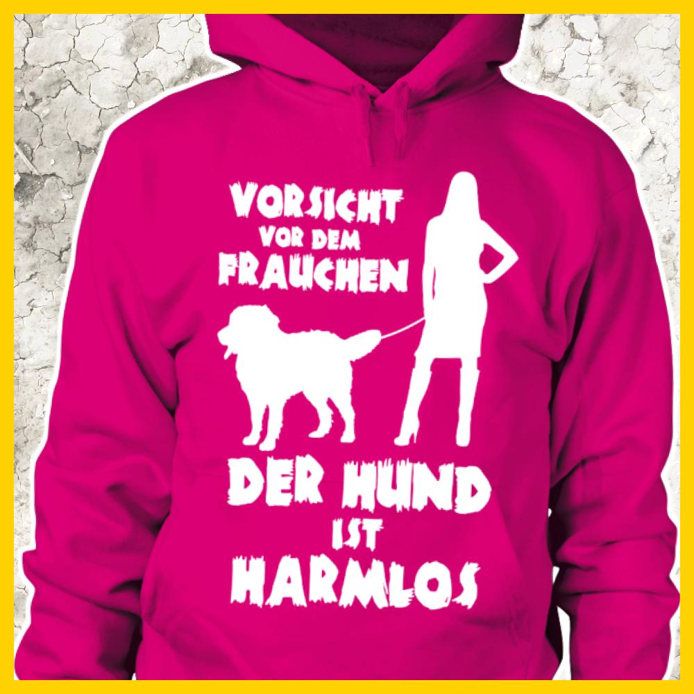 Vorsicht vor dem Frauchen - der Hund ist harmlos (Berner ...