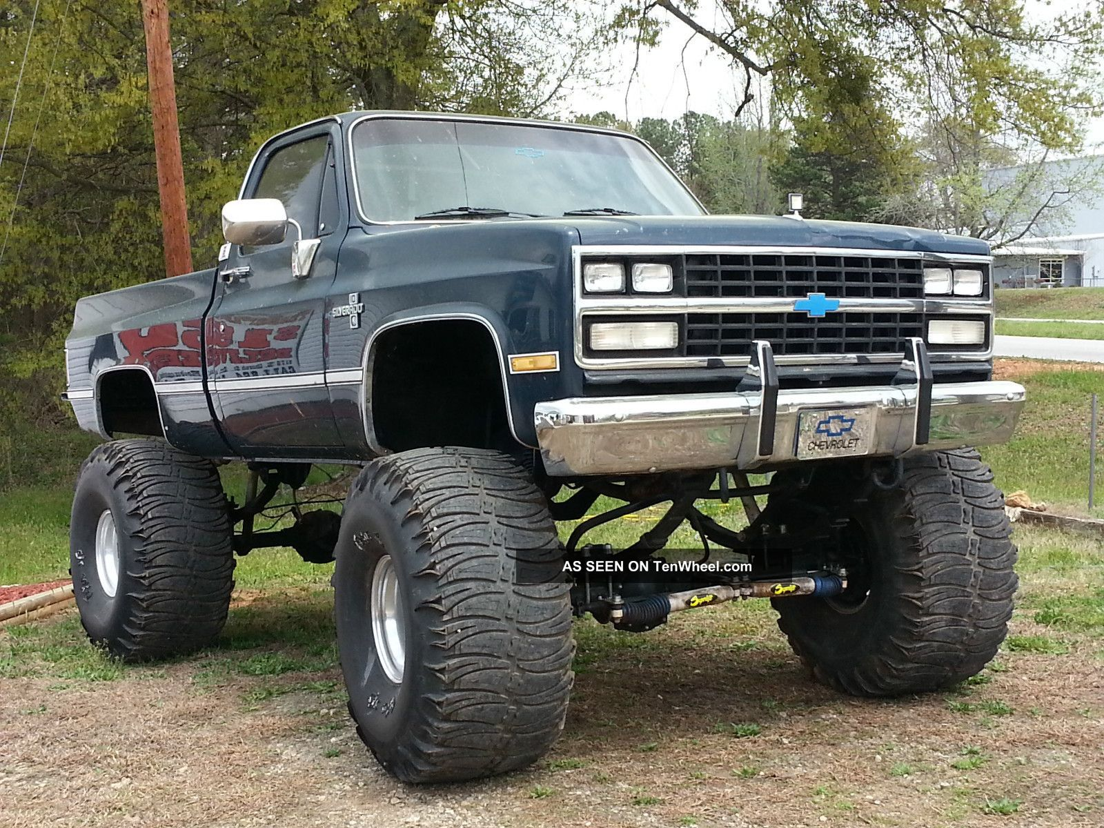 1985 lifted chevy silverado 44 s 16 lif lgw