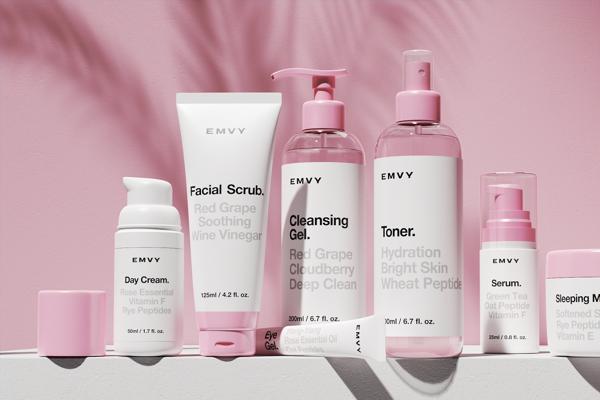 Dieline Cosmetic Packaging Design Cruelty Free Cosmetics Skincare Packaging
