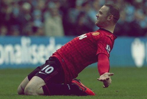 Wayne Rooney, Manchester United FC.