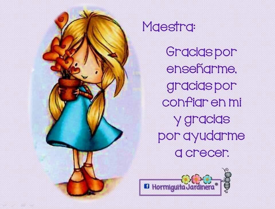 A Mi Linda Maestra Dia De Los Maestros Poesia Dia Del Maestro Felicitaciones Dia Del Maestro