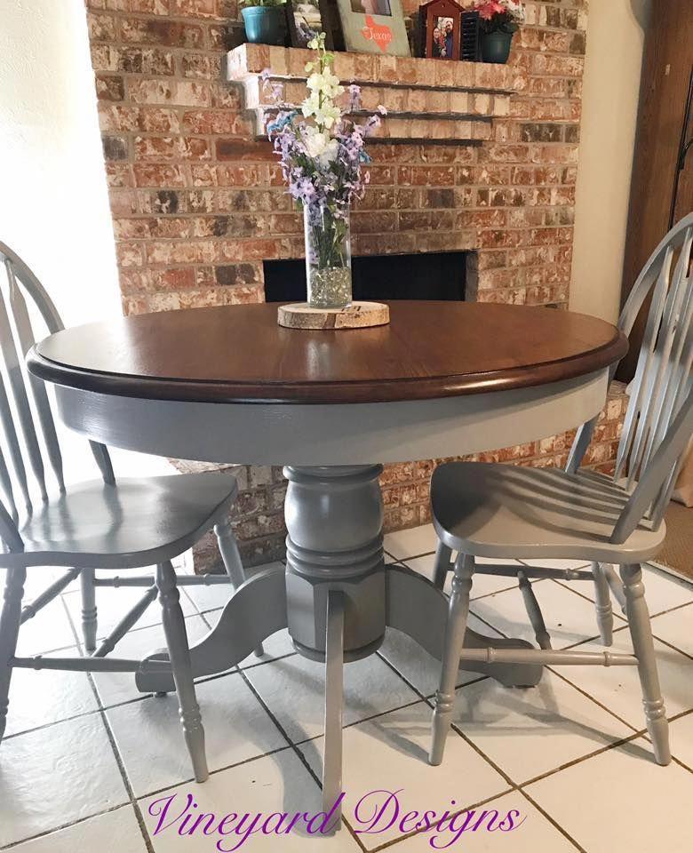 vineyard designs refinished this table top using gf java gel stain rh pinterest com