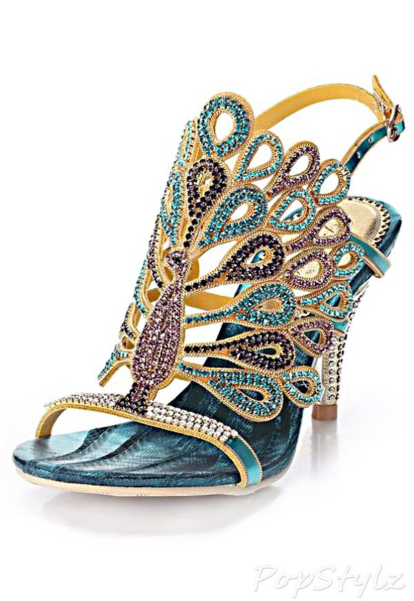Women's Rhinestone Flower Patterned Handmade Sandals Slippers