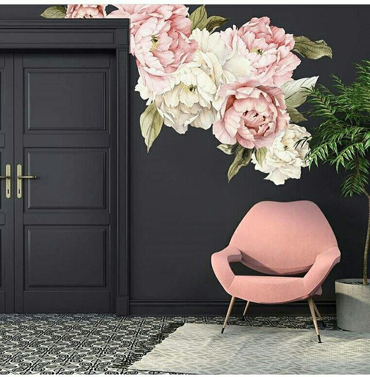 Papel De Parede Maravilhoso Tonicliving Floral Wall Decals Home Decor Mural Wallpaper