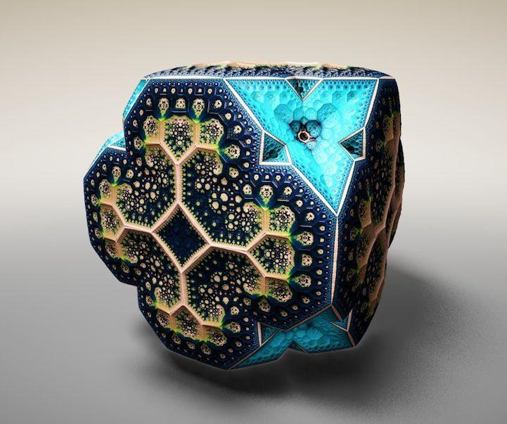 Geometrie Fractală - elemente geometrice în natură.