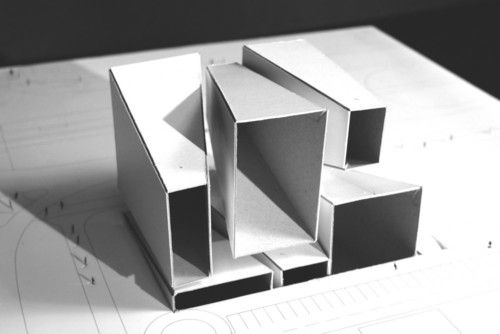 Conceptmodel 家のデザイン 紙立体 建築モデル