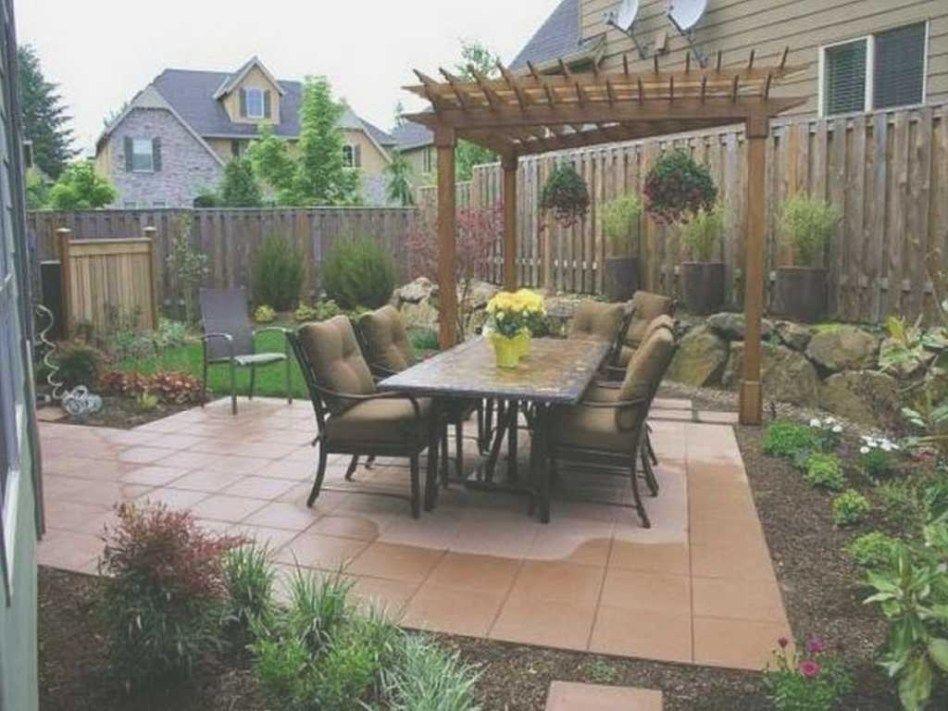 Small Backyard Ideas On A Budget Diy Simple Garden Design ... on Low Cost Backyard Patio Ideas id=16687