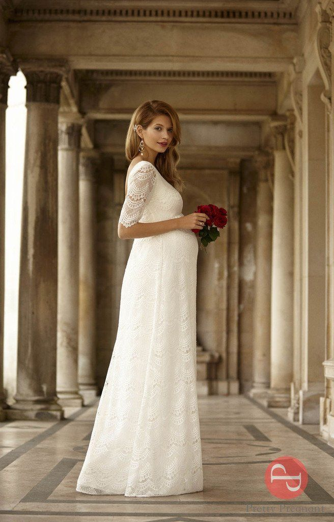 maternity dress for wedding lace maternity wedding dress wedding inspirations 5747