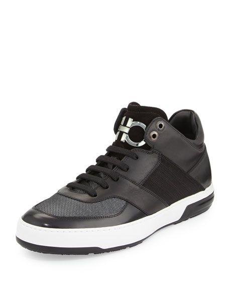 Ferragamo Monroe Chaussures De Sport - Noir uLu4F