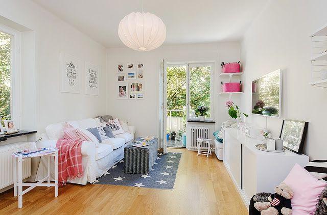 ACHADOS DE DECORAÇÃO - blog de decoração: É COR DE ROSA DE NOVO! Apartamento de 65 m² que só pode ser de mulher