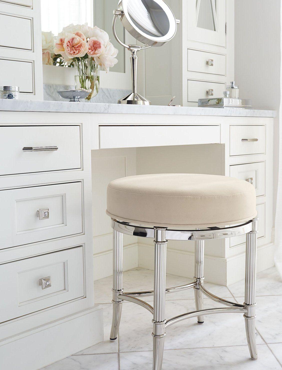 Bailey Swivel Vanity Stool Bathroom Vanity Stool Vanity Stool