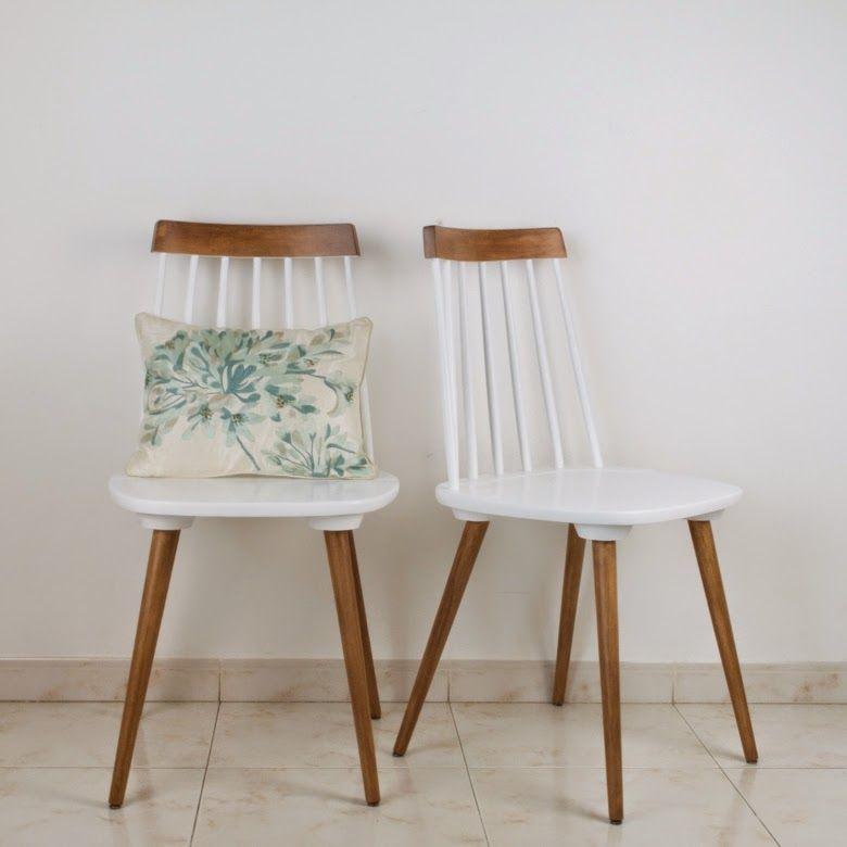 Diy c mo transformar unas antiguas sillas recuperando su historia antic chic decoraci n - Sillones antiguos restaurados ...