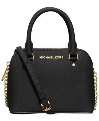 3de1a03ce76830 MICHAEL KORS Michael Michael Kors Cindy Mini Crossbody. #michaelkors #bags  #shoulder bags #hand bags #leather #crossbody #