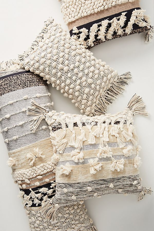 Photo of Black Pillows by All Roads Design, Yucca Pillow