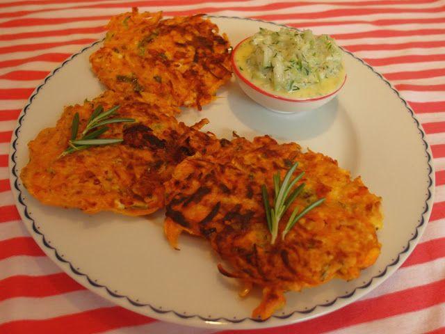 Aneta Goes Yummi: Jednoduché placky z tekvice a syra feta