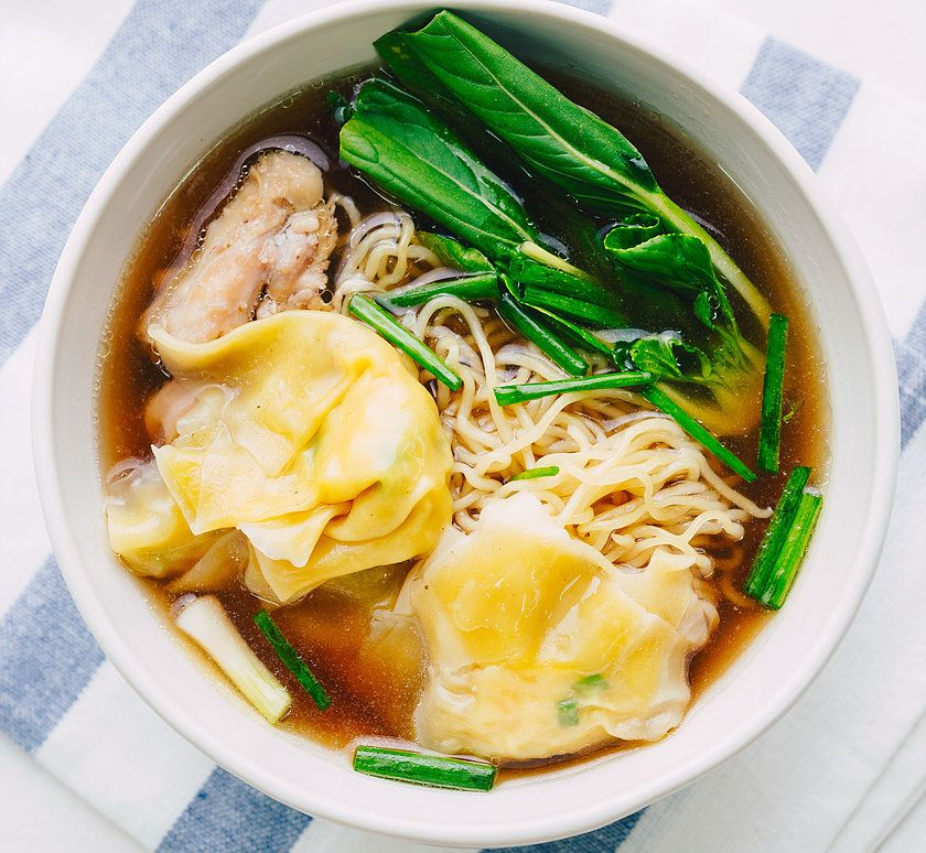 Wonton Chicken Noodle Soup - Marion's Kitchen   Recipe ...
