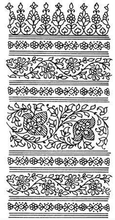 Henna Templates Printable