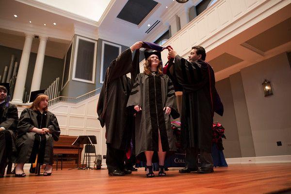 Hooding Ceremony - May 2015 - Belmont University Photographer