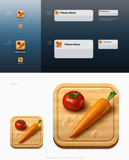 iOS Icon Template Ios icon, Ios app icon design, Ios app