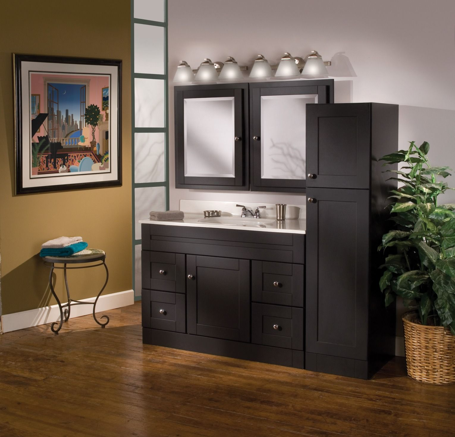 Beautify Your Bathroom! Large Enough To House All Your Bathroom Necessities,  The Murano Vanity