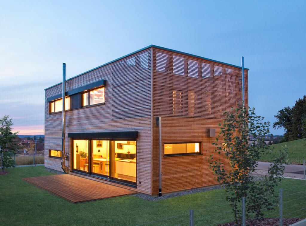 Dieses Haus Wurde Nach Baubiologischem Konzept Gefertigt Und Bietet Ein  Reines Wohnraumklima. Finden Sie Hier