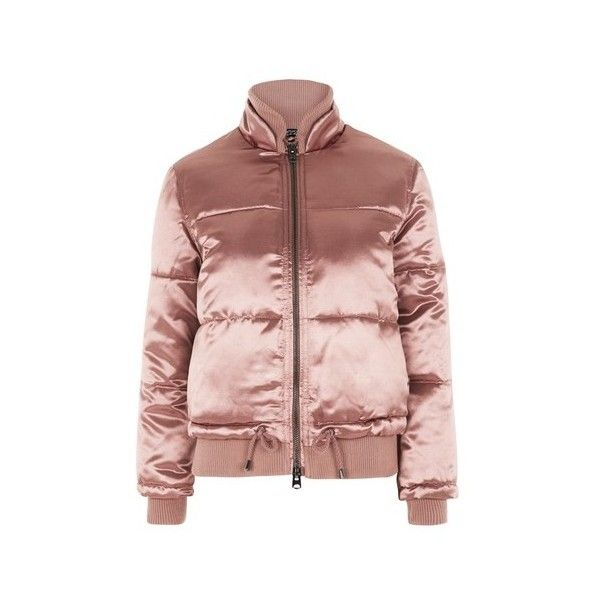 Topshop Quilted Puffer Jacket (€74) ❤ liked on Polyvore featuring ... : gold quilted jacket - Adamdwight.com