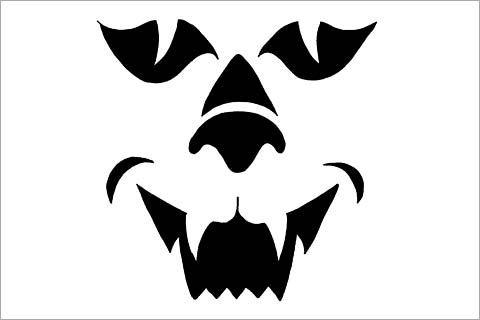 Free Printable Pumpkin Carving Templates | 10 Free Pumpkin Stencils ...