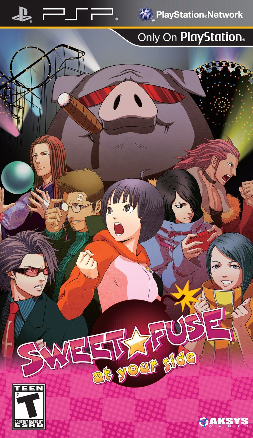 Amazon.com: Sweet Fuse: At Your Side - Sony PSP: Video Games