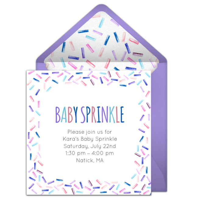 Free baby sprinkle invitations baby pinterest baby sprinkle customizable free baby sprinkle online invitations easy to personalize and send for a baby sprinkle punchbowl filmwisefo