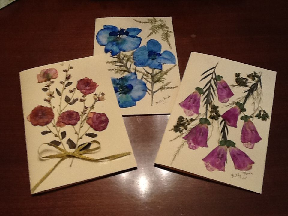 A Few Of My Pressed Flower Card Designs Pressed Flower Art Pressed Flowers Flower Cards