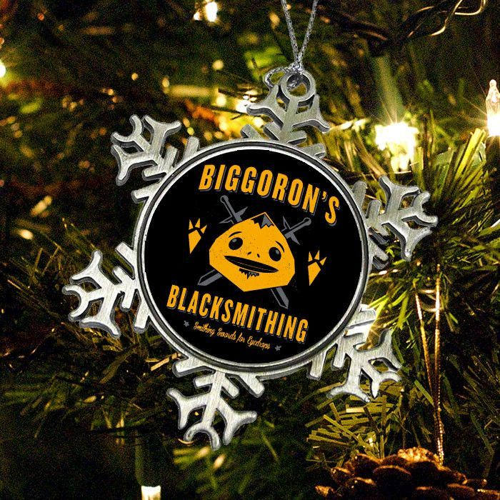 Big Goron\u0027s Blacksmithing - Ornament Products, Ornaments and