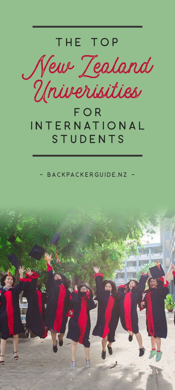 The Top New Zealand Universities For International Students