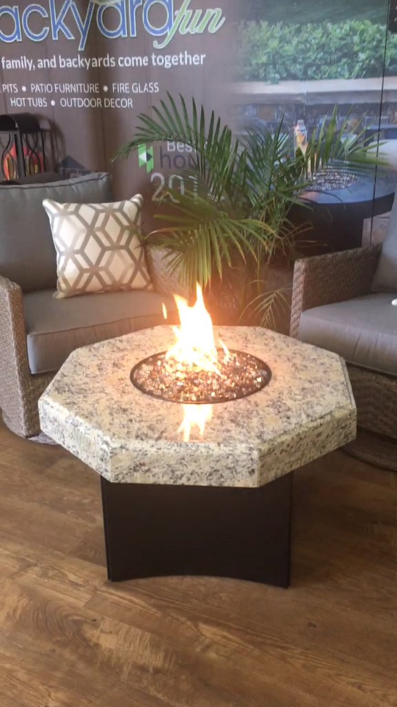 Got a smaller space, but want a fire table? The Oriflamme Fire Table Mini  32