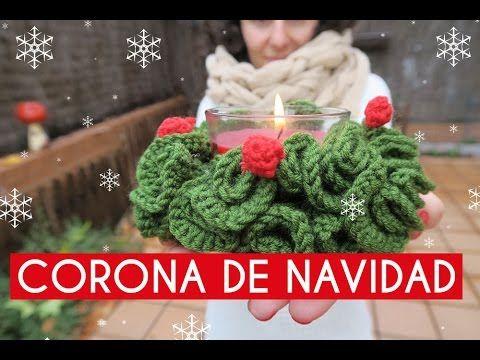 Corona De Navidad Ganchillo Crochet Wreath Youtube Pleximo - Navidad-ganchillo