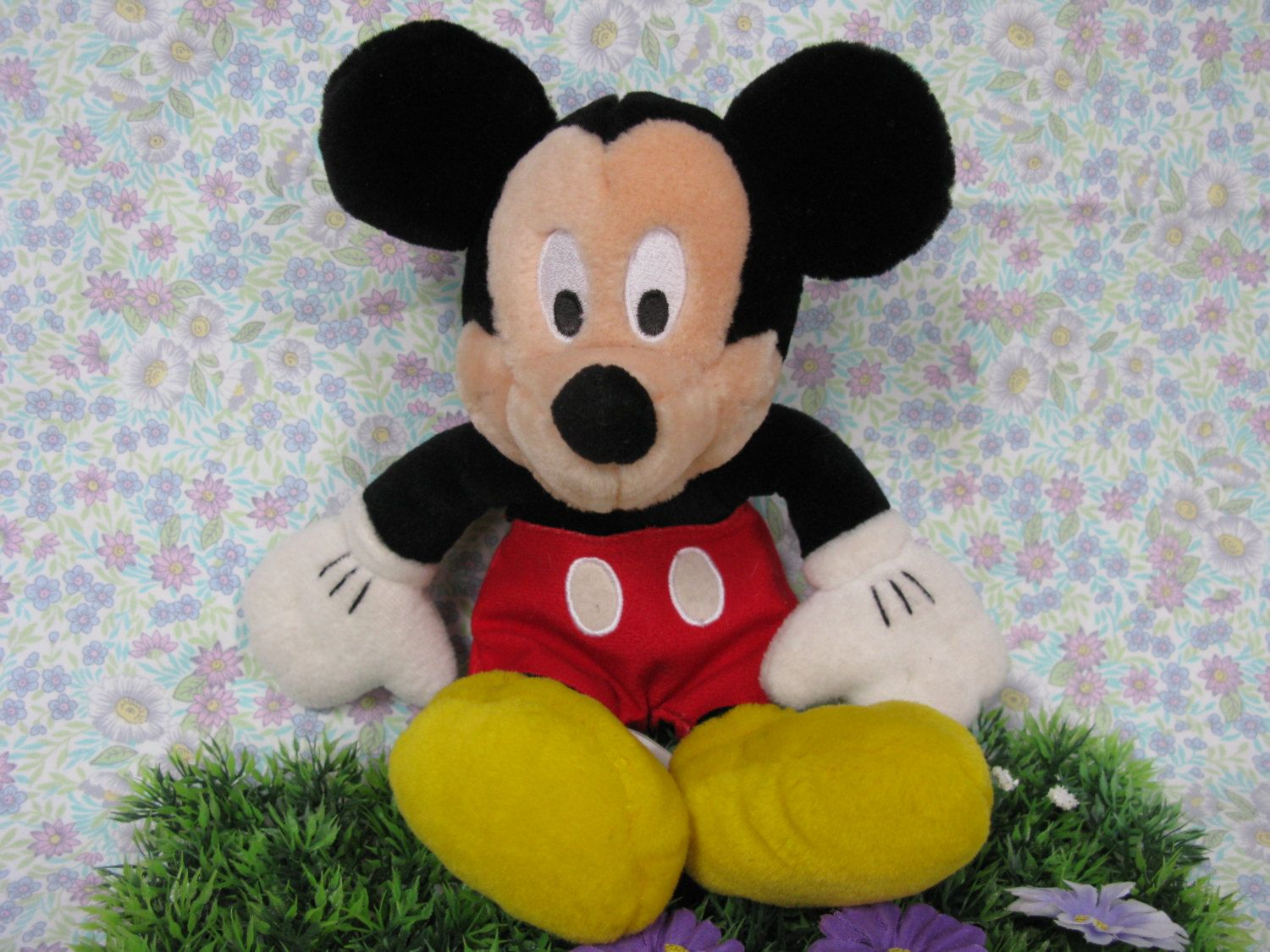 Mickey Mouse Toy - Mickey Plush Toy - Mickey Soft Toy - Mickey Mouse - Vintage Mickey - Vintage Disney - Mickey Plushie - Mickey Bean Bag by MissieMooVintageRoom on Etsy