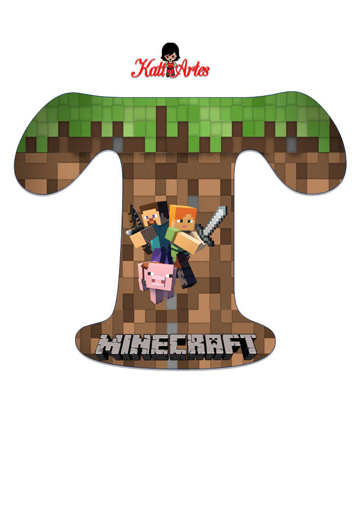 Pin De Annalina Enriquez En Minecraft Minecraft Letras - roblox pilot t shirt robux generator free download no survey