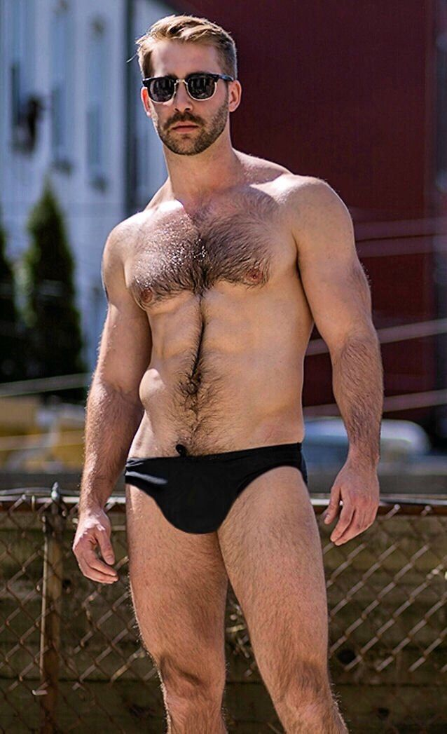 Handsome Hairy Man Stock Photos And Images