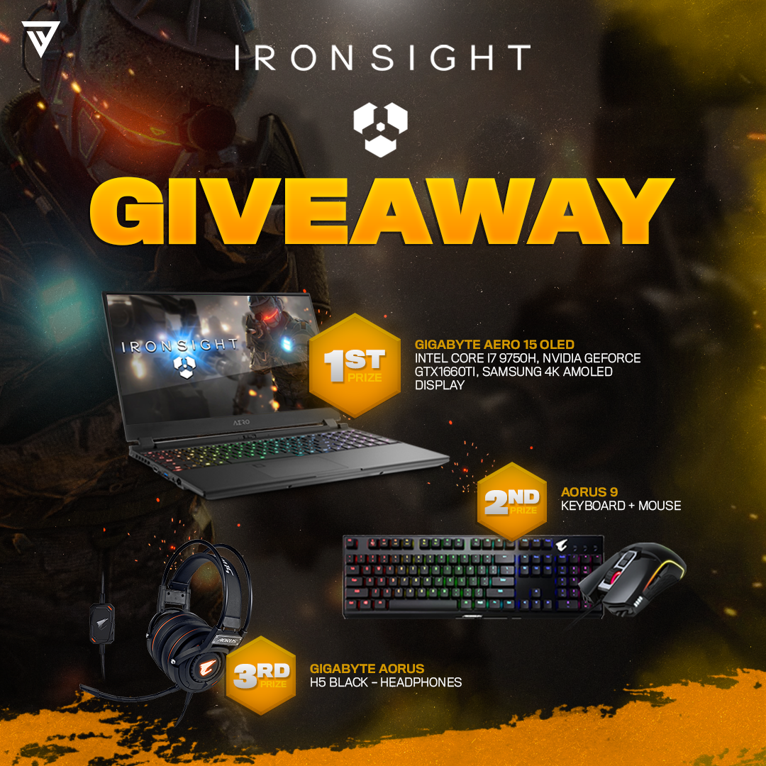 Ironsight Dec 19th Jan 31st In 2020 Gigabyte Giveaway Gaming Laptops