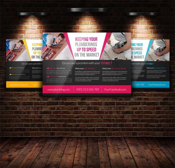 16+ Free  Premium Handyman Flyer Mockups  PSD Templates(Today