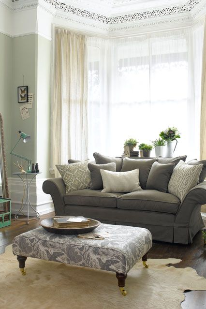Girly Greys | Grey living rooms, Living room ideas and Room ideas